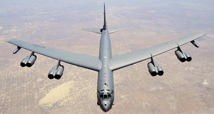 ABD'den Orta Doğu'ya iki adet B-52H bombardıman uçağı!