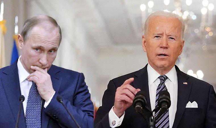 Biden'dan Putin'e sert sözler: Bir katil, bedelini ödeyecek!