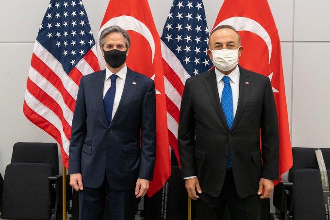 Blinken ile görüşen Çavuşoğlu: S-400 işinin bittiğini söyledik!