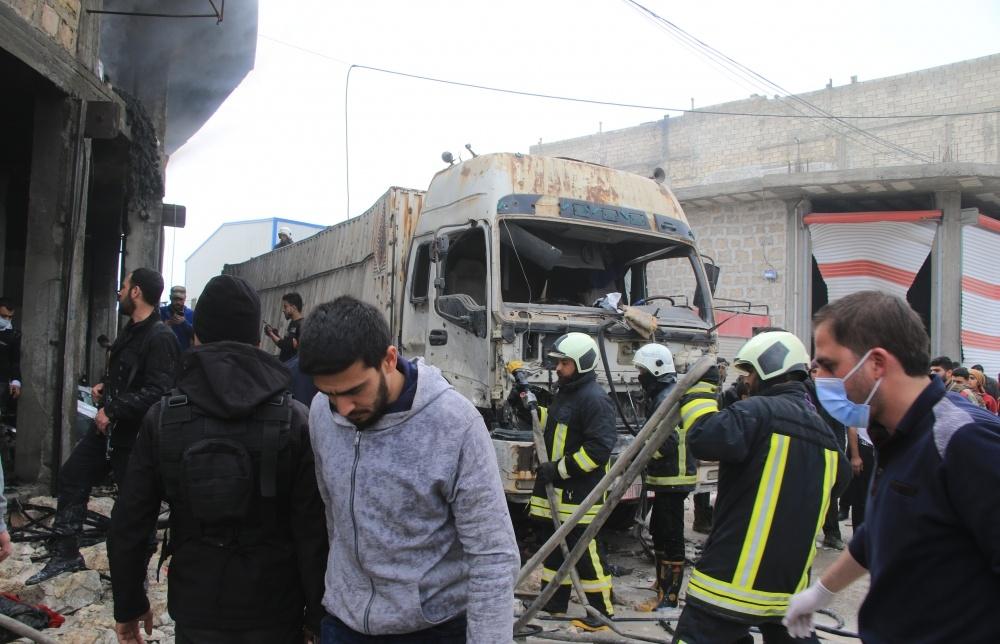 Bab'da bombalı saldırı!