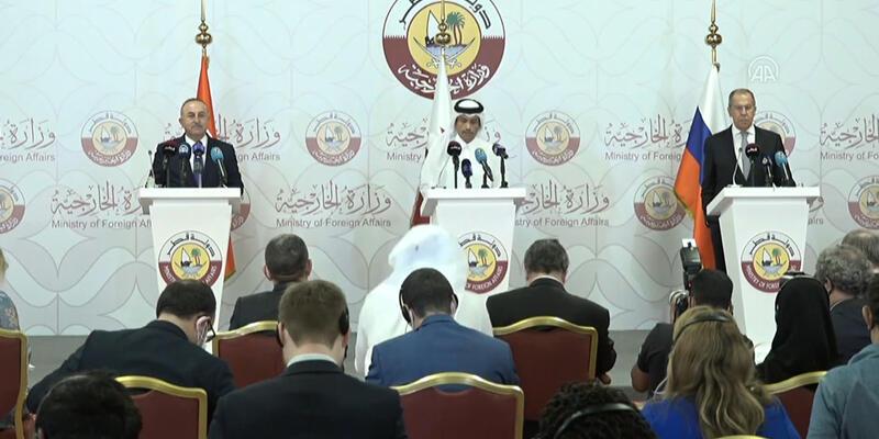 Lavrov: Rusya, Türkiye ve Katar, Suriye'de anlaşmaya vardı!