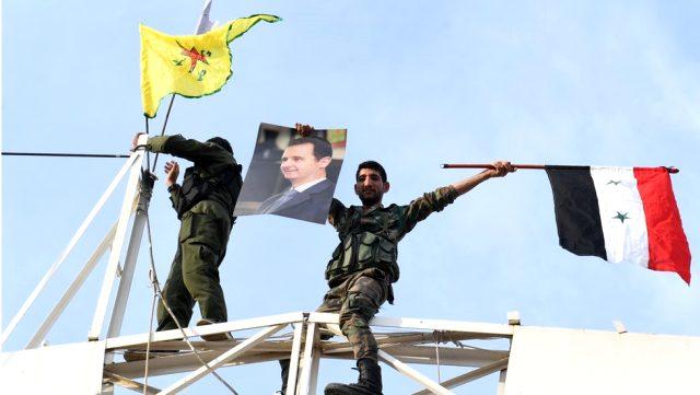 DSG ile Şam, Özerk Yönetim için prensipte anlaştı!