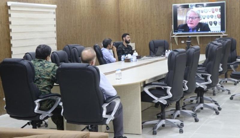 DSG Genel Komutanı, İsveç Savunma Bakanı ile Rojava'yı görüştü!
