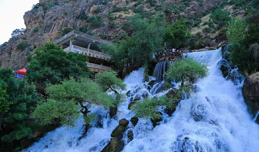 Duhok'u bir haftada 20 bin turist ziyaret etti