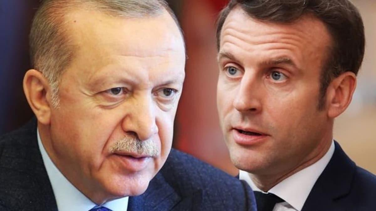 L'opinion gazetesinden Macron-Erdoğan iddiası!