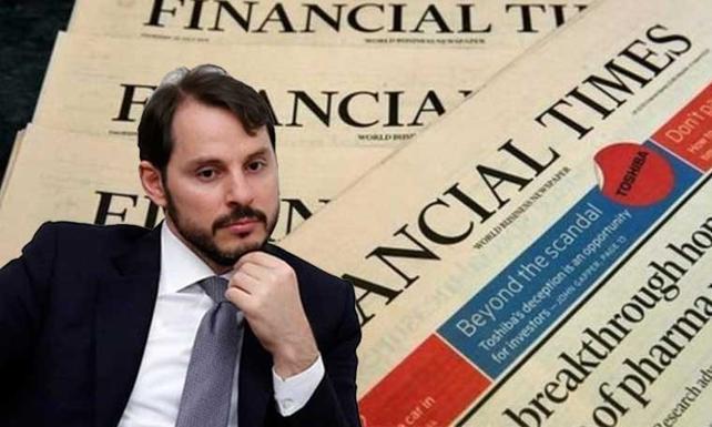 Financial Times'tan Merkez Bankası yorumu ve Albayrak iddiası!