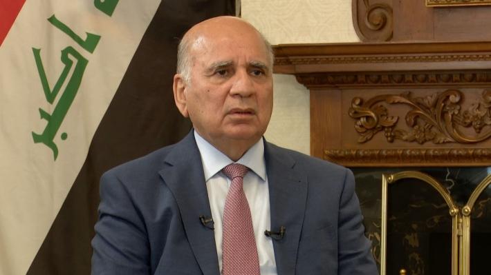 Irak Dışişleri Bakanı Fuad Hüseyin, İran'a gitti