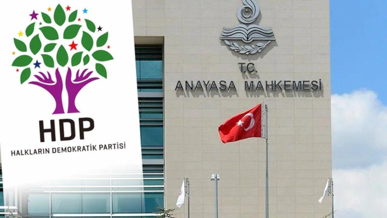 HDP: AYM'nin kararı ile iddianame çürütüldü!