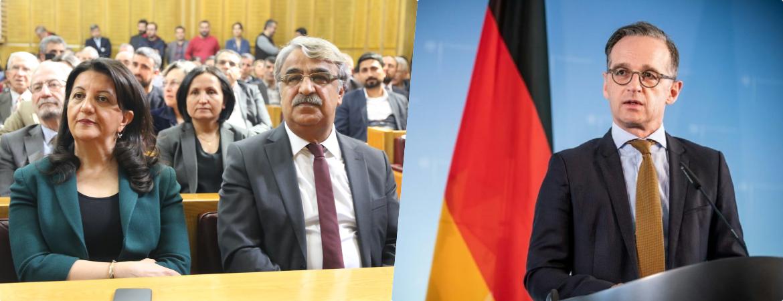 HDP'den Almanya'ya tepki!