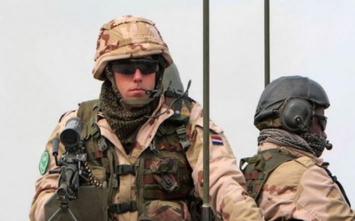 150 Hollandalı asker Erbil'de!
