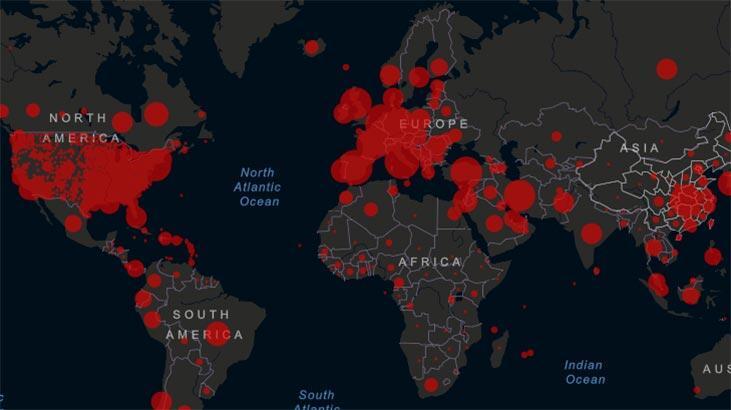 Kovid-19 vaka sayısı dünya çapında 111 milyonu aştı!