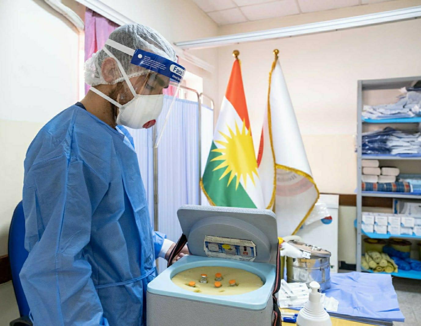 Kürdistan Bölgesi'ne Pfizer-BionTech aşı tedariği yapılacak!