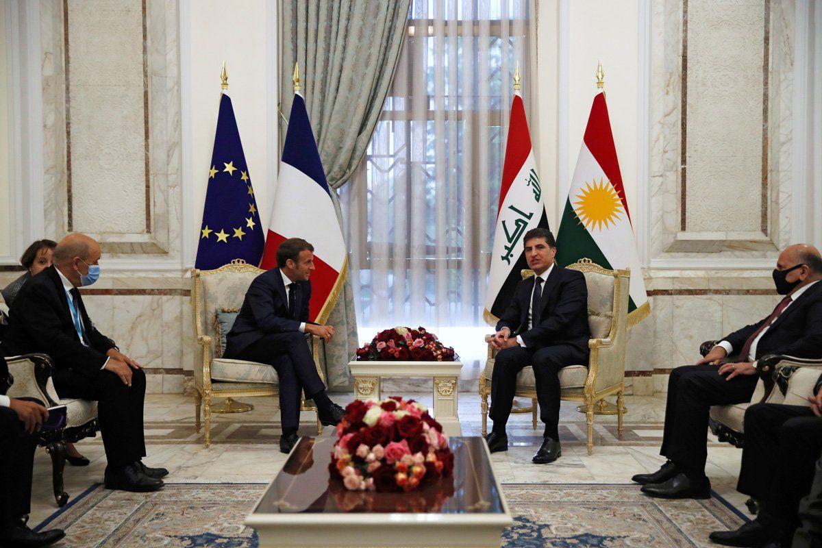 """""""Fransa, Kürdistan Bölgesi'nin huzur ve güvenliğine çok önem veriyor"""""""