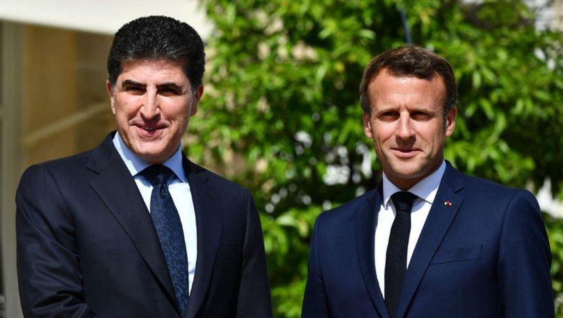 Neçirvan Barzani, yarın Macron ile bir araya gelecek