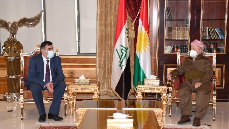Başkan Barzani, Ermenistan'ın Erbil Başkonsolosu ile görüştü