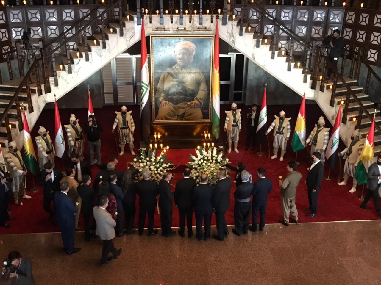Ölümsüz lider Mele Mustafa Barzani, Kürdistan Parlamentosu'nda anıldı!