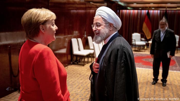 Merkel, Ruhani ile nükleer anlaşmayı görüştü!