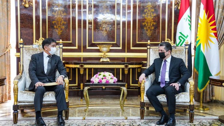 Başbakan, Japonya'nın Bağdat Büyükelçisi'ni kabul etti
