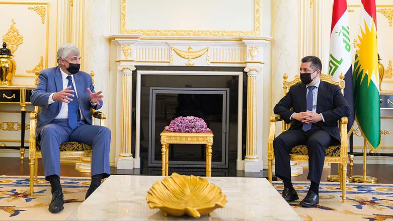 Başbakan Rusya'nın Bağdat Büyükelçisini kabul etti