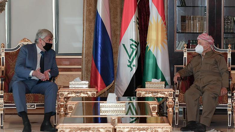 Başkan Barzani, Rus Büyükelçiyi kabul etti!