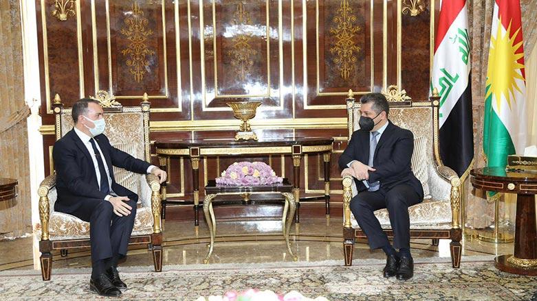 Başbakan, Türkiye'nin Bağdat Büyükelçisi ile bir araya geldi!