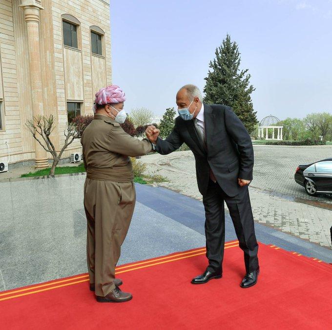 Başkan Barzani: Ahmed Ebu Gayt'i ağırlamaktan memnuniyet duydum!