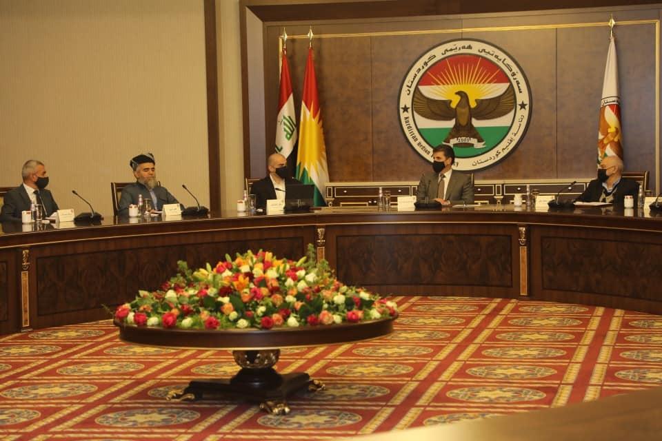 Neçirvan Barzani, siyasi parti liderleriyle bir araya geldi!