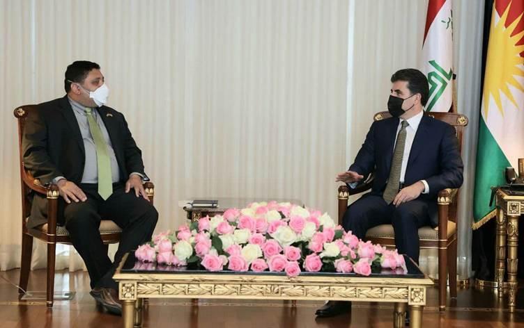 Neçirvan Barzani, ABD'nin Suriye Temsilcisi'ni kabul etti!