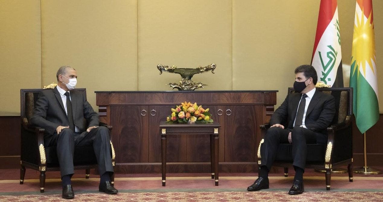 Neçirvan Barzani, Irak İçişleri Bakanı'nı kabul etti!