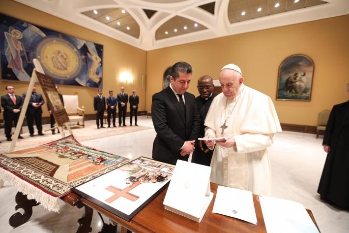 Papa, Erbil'de en büyük ayini gerçekleştirecek!