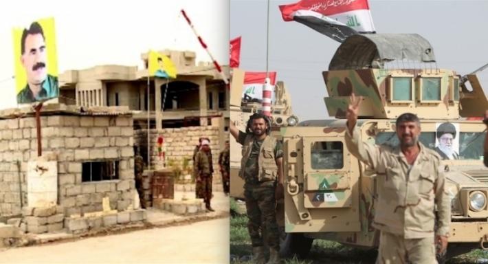 PKK ve Haşdi Şabi Şengal'de anlaştı!