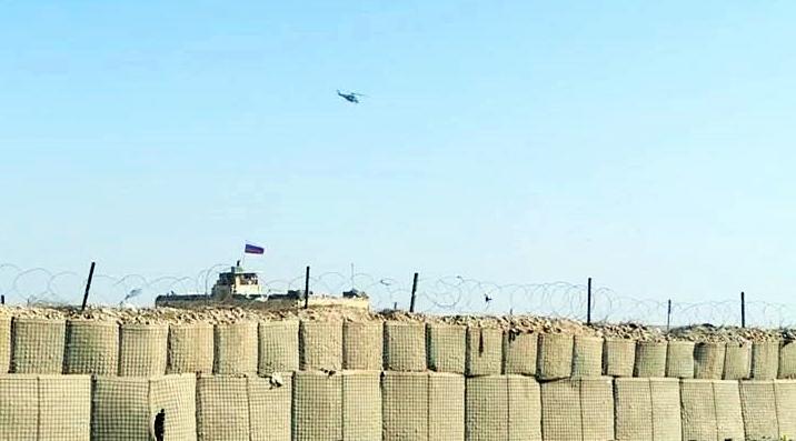 Rojava'da Rus helikopteri düştü!