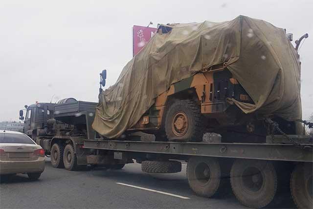 Rus güçleri Suriye'de, Türkiye'ye ait zırhlı araca el koydu!