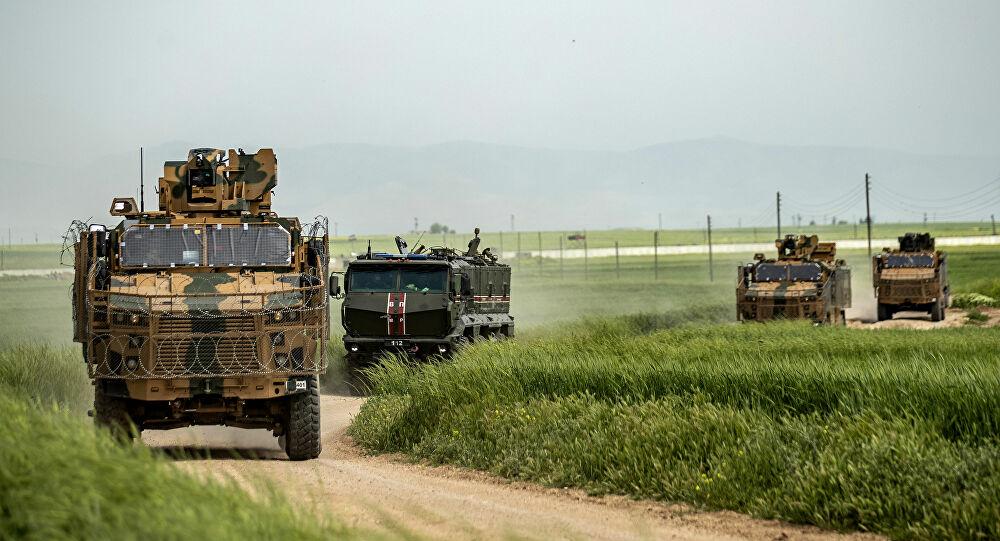 Rus ve Türk güçleri arasında Haseke'de ortak devriye!