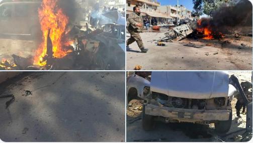 Serekaniye'de patlama: Ölü ve yaralılar var!