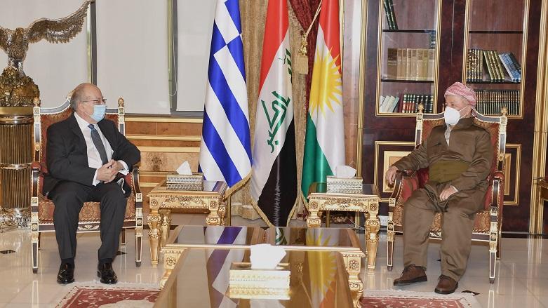 Yunanistan: Kürdistan Bölgesi bizim için özel bir öneme sahip
