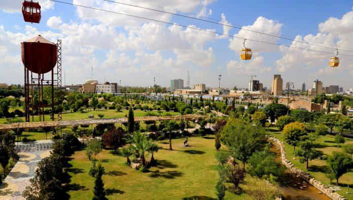 Erbil, iki yeni yeşillendirme projesi ile yeşil alanları yüzde 25'e çıkaracak!
