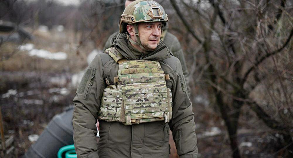 Ukrayna Devlet Başkanı 'tartışmalı bölgeye' gitti!