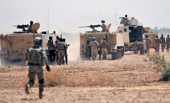 Irak güçlerinden IŞİD'e hava indirme operasyonu!
