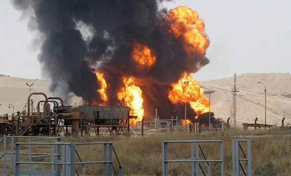 Kerkük   Petrol sahasına saldırı!