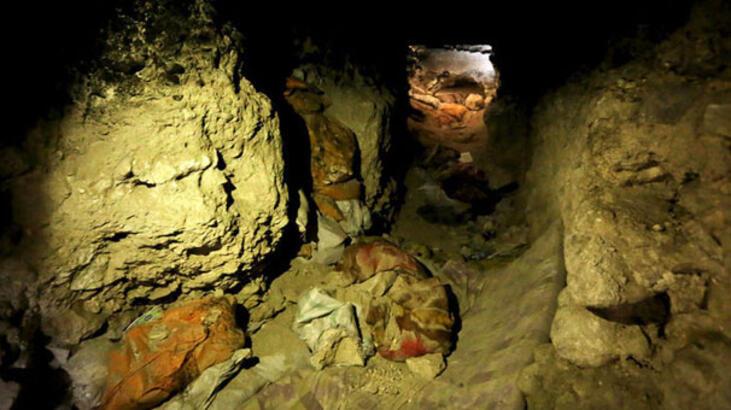 Kerkük   IŞİD'e ait tünel ve sığınaklar bulundu!