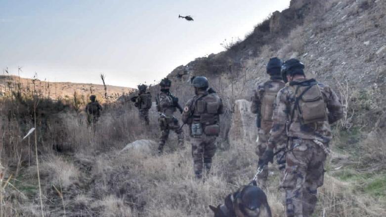 Irak'ta IŞİD'e karşı operasyon: Çok sayıda terörist yakalandı!