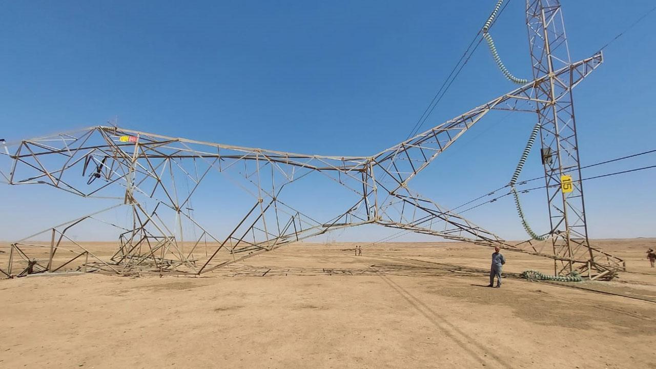 Irak   14 elektrik nakil kulesi havaya uçuruldu