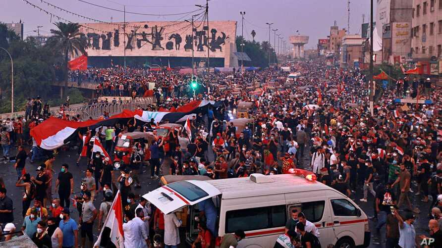 Irak'ta protestolar yeniden patlak verdi!
