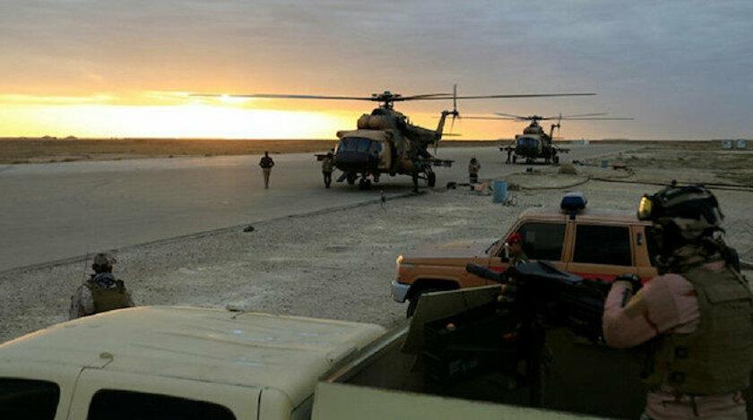 Koalisyon'dan Irak Ordusuna askeri teçhizat