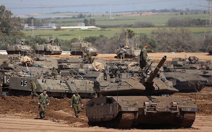 İsrail ordusundan Gazze'ye kara harekatı hazırlığı!