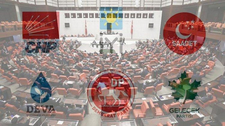 6 parti 'Kürt Sorunu'nun da yer aldığı 10 madde üzerinde anlaştı!
