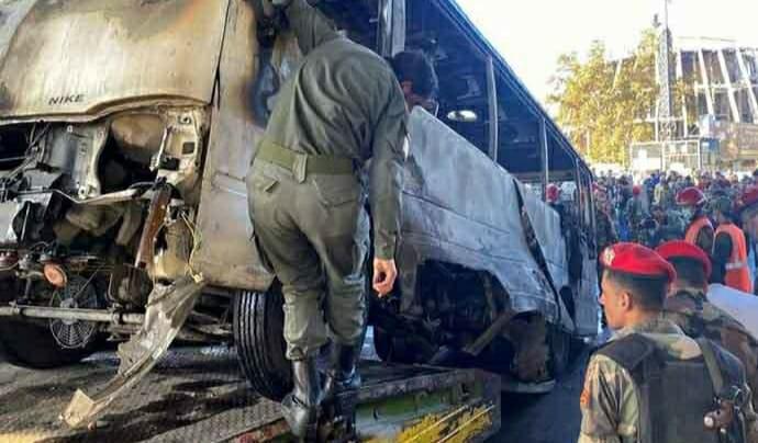 Şam | Rejime ait askeri konvoya saldırı: Çok sayıda ölü var!