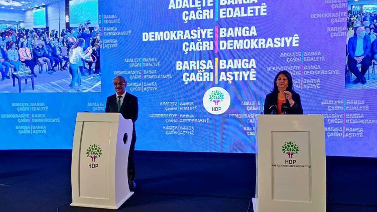 """HDP tutum belgesini duyurdu: Buldan'ın """"ittifak"""" açıklaması dikkat çekti!"""