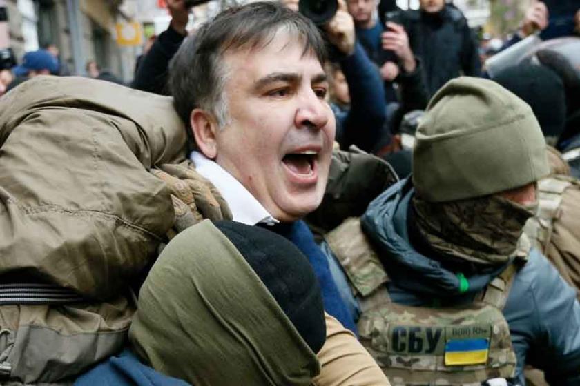 8 yıl sonra Gürcistan'a gelen Saakaşvili tutuklandı: Ukrayna'dan açıklama!